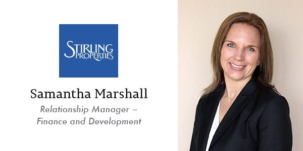 Samantha Marshall Relationship Manager – Finance and Development