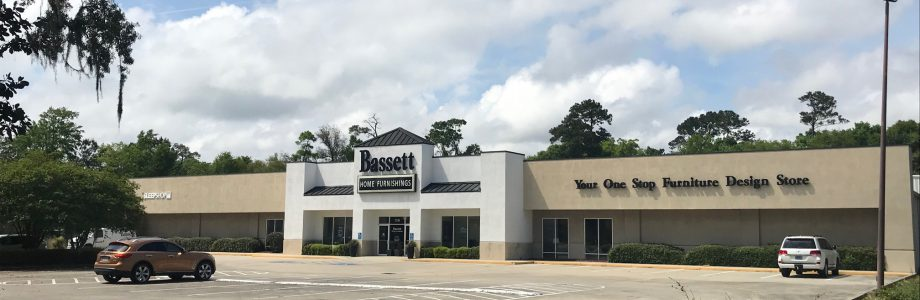 Former Bassett Home Furnishings Building in Gulfport, MS